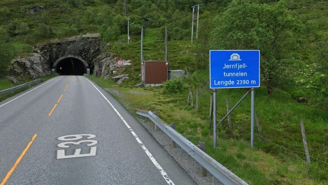VIKTIG KNUTEPUNKT: Jernfjelltunnelen knyt saman Gulen Kommune i Sogn og Masfjord Kommune i det som før var Hordaland.