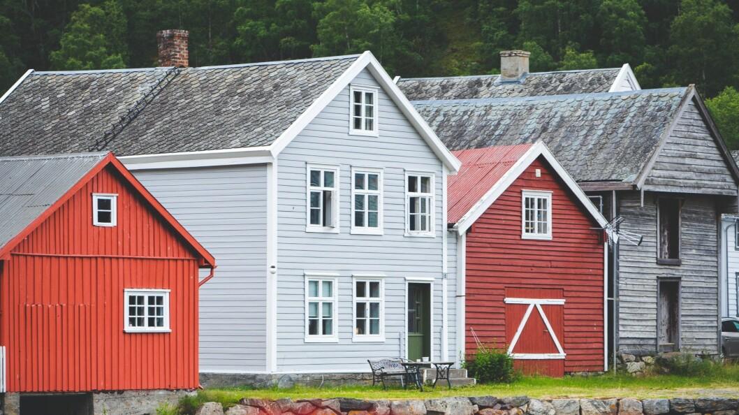 IKONISK: Deler av Løytnansbrygga på Gamle Lærdalsøryi.