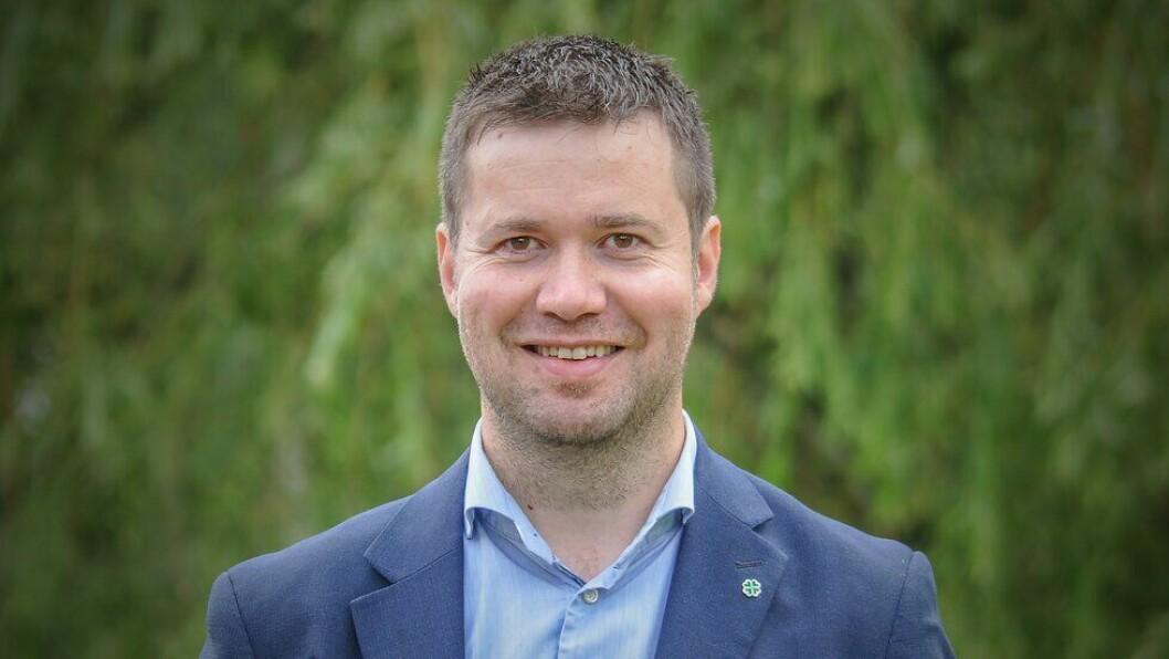 SENTERPARTIET: Stortingsrepresentant for Senterpartiet, Geir Pollestad.