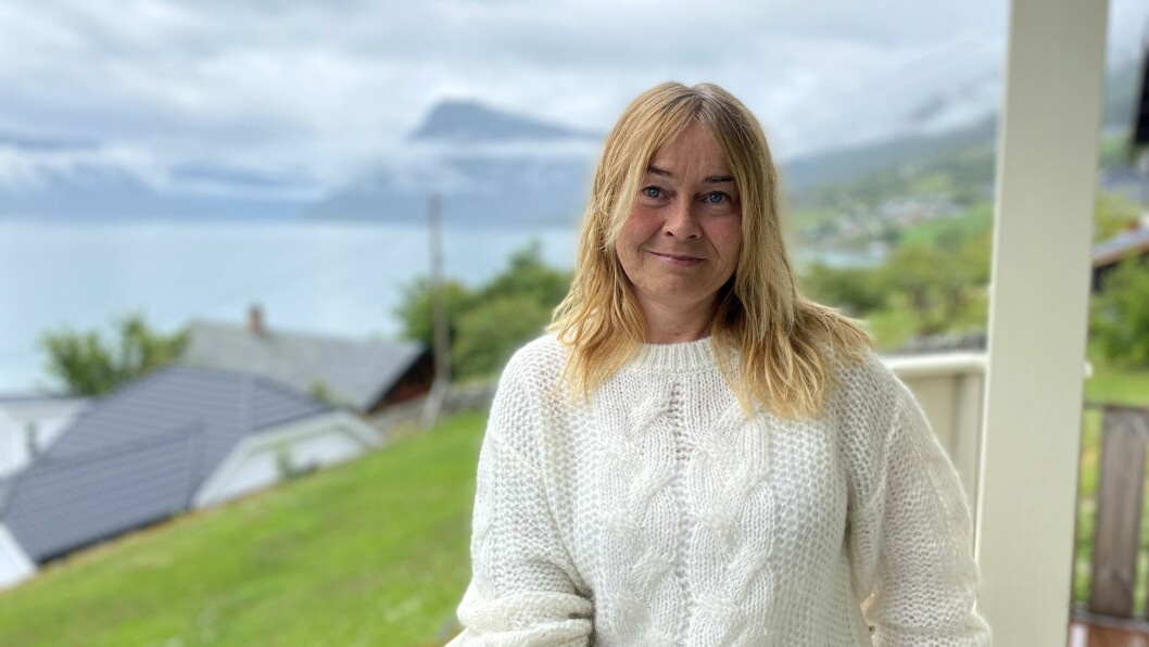 SOGNEFERIE: May Liss Torp trivest på Høyheimsvik hjå tante Brun.