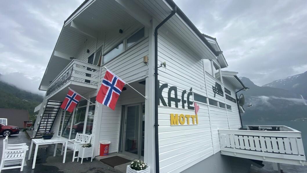 NYTT PÅ HØYHEIMSVIK: Kafé Motti på Høyheimsvik.