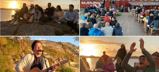 Sumarfesten på Skjerjehamn vart utseld innan 24 timar