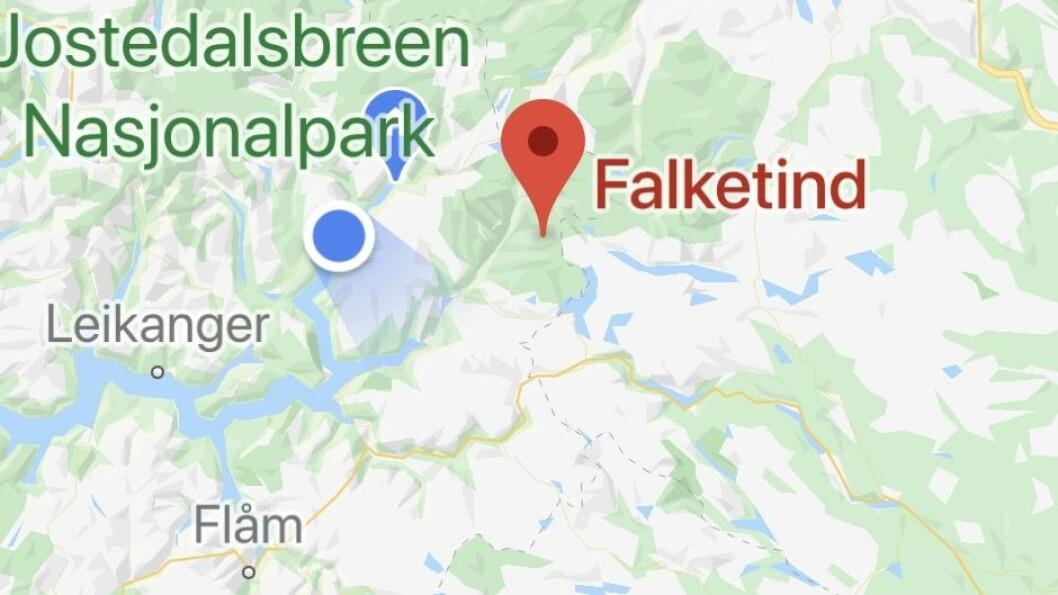 SKÅRFAST: Falketind ligg i Jotunheimen.