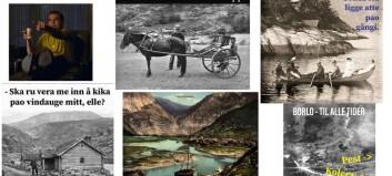 Lagar historiske «memes» om livet i Lærdal: – Lokalhistorie er interessant