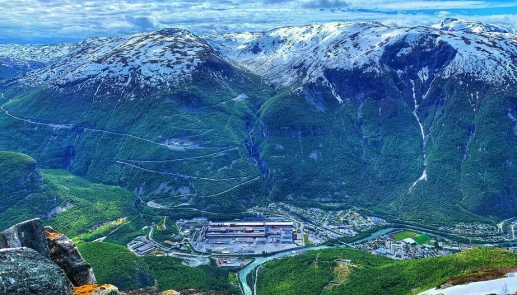 HYDROGEN: Ein ny hydrogenfabrikk kan bli starten på eit nytt industrieventyr for Årdal.