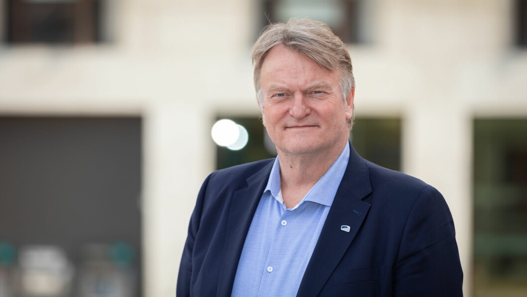 UENIG: Høyres kommunepolitiske talsperson, Ove Trellevik, er uenig i senterparitipolitiker Geir Pollestad sine påstander om at byråkratiseringen øker.
