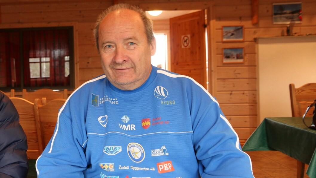 OPTIMIST: Leiar Magne Knudsen i ÅTIL Ski har trua på at trakkemaskina skal vera på plass til vinteren.