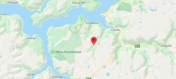 Bubil køyrde seg fast på Aurlandsfjellet