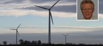 Bjørn Blix forteller eventyr om vindkraft