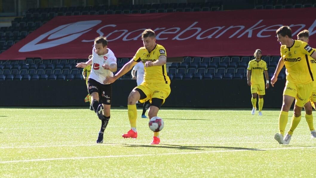 TAPTE: Sogndal tapte 2-1 borte på Raufoss. Illustrasjonsfoto