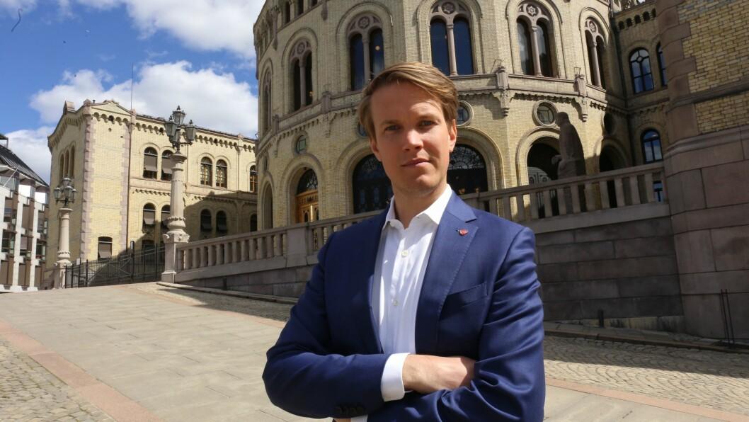 Meiningar: Torstein Tvedt Solberg, Arbeiderpartiets utdanningspolitiske talsperson.