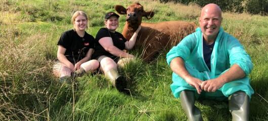 Lisa (21) og Andrine (15) viser moderne stølsdrift på TV: – Viktig å syne fram landbruket