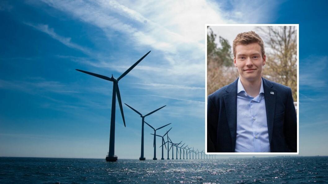 ENERGI: Elias Eide i Sogn og Fjordane Unge Høgre meiner Noreg bør forsyne resten av Europa med rein energi.