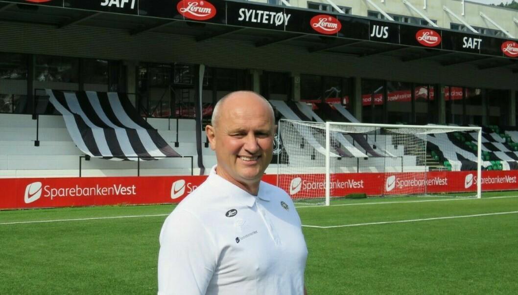 SOGNDAL FOTBALL: Styreleiar Jan Rune Årøy.