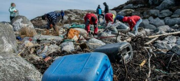 Jobbar for å halde Sognefjorden fri for plast – har samla 16 tonn på eitt år