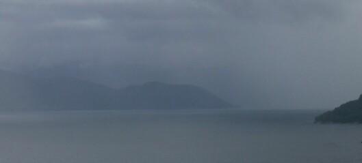 Blanda drops: Slik vert vêret langs Sognefjorden framover