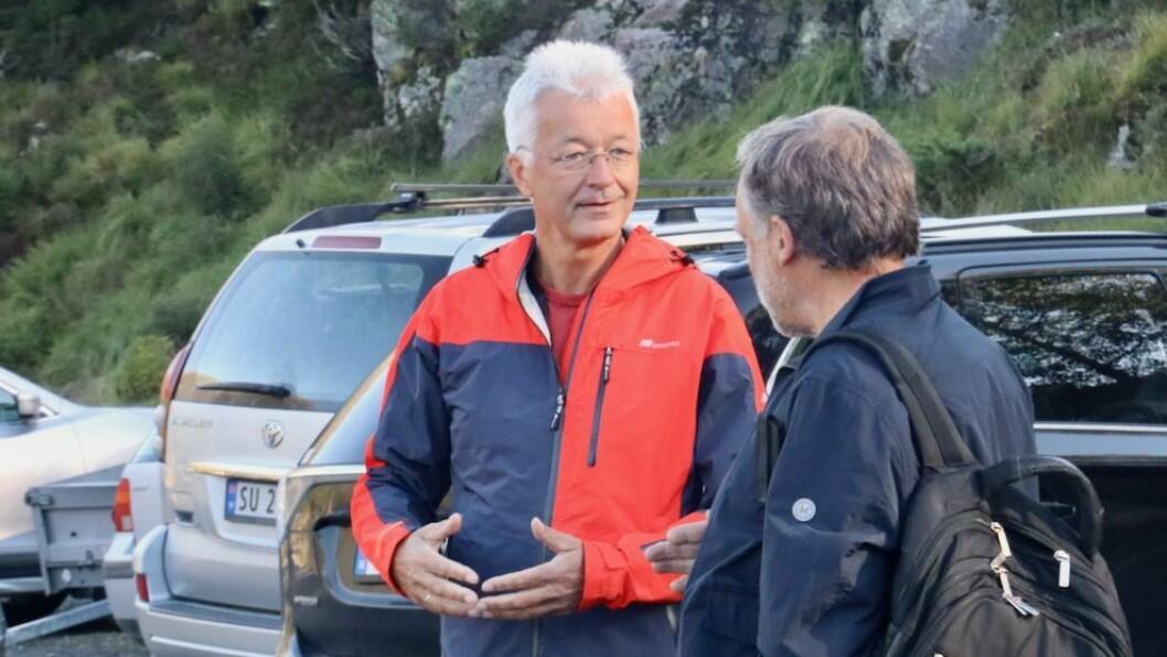 ENDRING: Fylkesordførar i Vestland, Jon Askeland (Sp) meiner politikken kring vindkraft må vere i takt med folket.