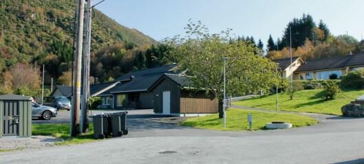 Brann på platetopp på Dalsøyra omsorgssenter