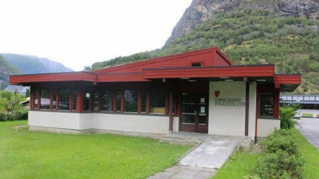 OMPLASSERAST: Folkebiblioteket er i dag lokalisert i skulebygget på Øyri. Drifta skal no flyttast ned i sentrum.