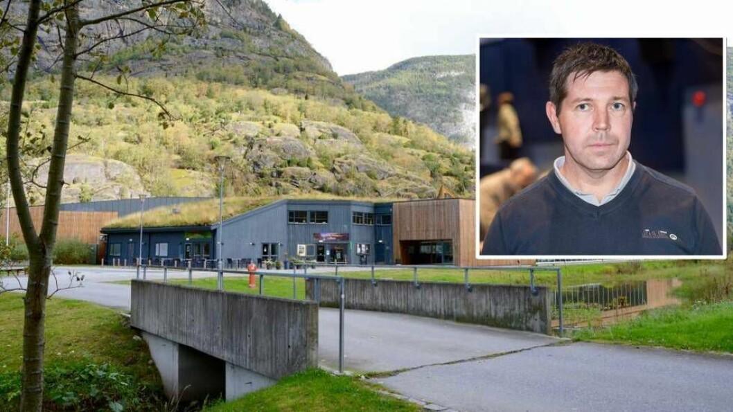 MOTOR: Ap-politikar Olav Grøttebø meiner biblioteket høyrer heime i kulturhuset, og har fleire tankar om korleis byggjet kan fyllast med liv og innhald.