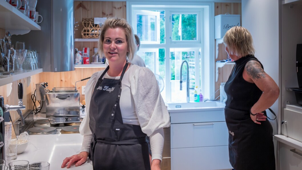 MÅ VENTE: Den planlagde matserveringa er sett på vent etter at kokken måtte gi seg av personlege årsaker. Her er frå opningshelga.