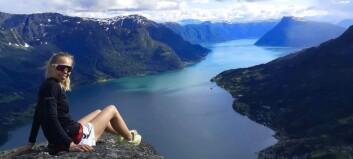 Miriam (22) kjem frå Luster, bur i Ulsteinvik, og studerer i Bodø