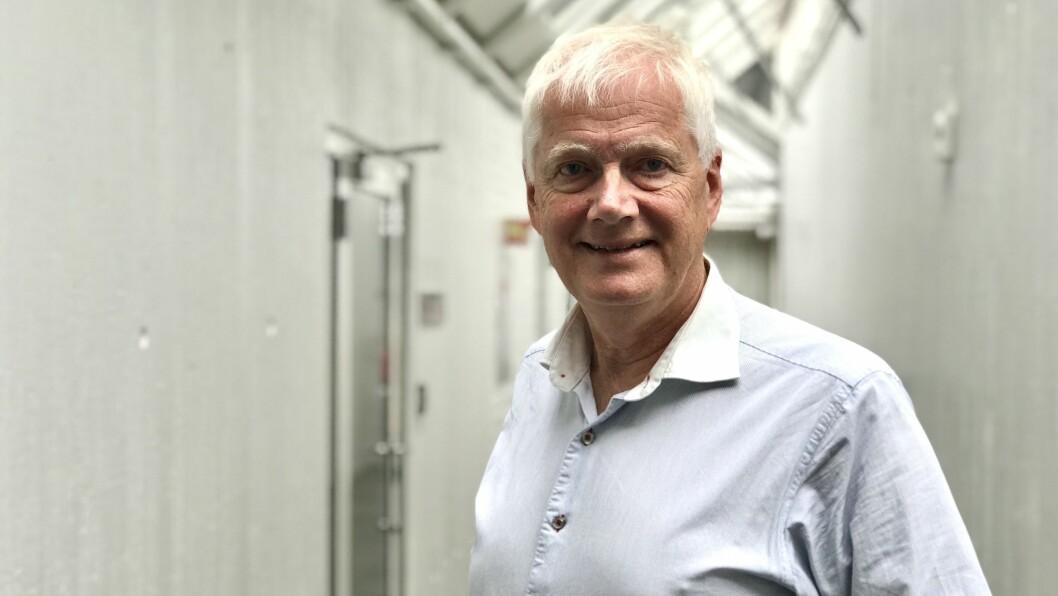 KLINGANDE MYNT: Konsernsjef Johannes Rauboti var torsdag i formannskapet i Sogndal for å fortelja om stoda i selskapet.