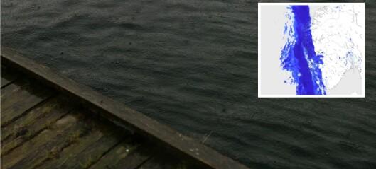 No kjem regnet: – Nærast ein vegg av vatn som kjem mot oss