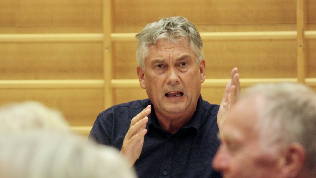 KLAR TALE: – Dei har forpliktingar, seier ordførar Petter Sortland om meldinga frå Nyrstar.