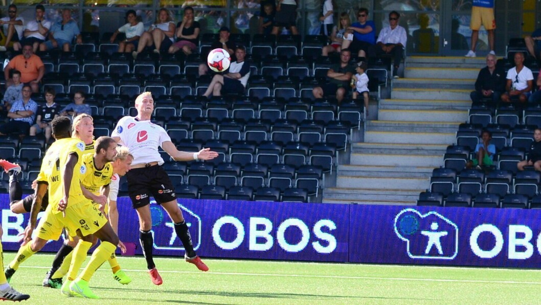 FOTBALL: Per Magnus Steiring.