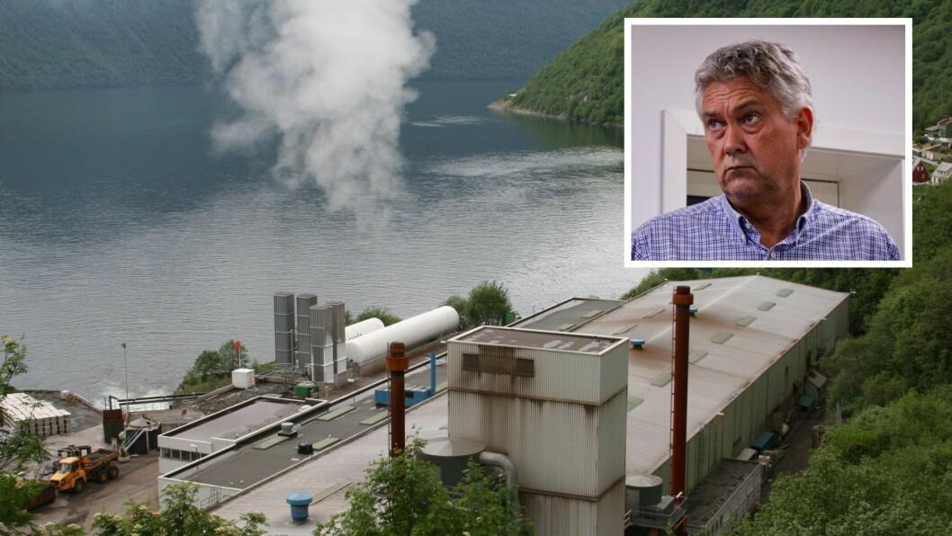 LEGG NED: Det kom som ei overasking då Nyrstar la ned fabrikken i Høyanger. Fabrikken har hatt produksjonsrekord og stort overskot i Høyanger dei siste åra.