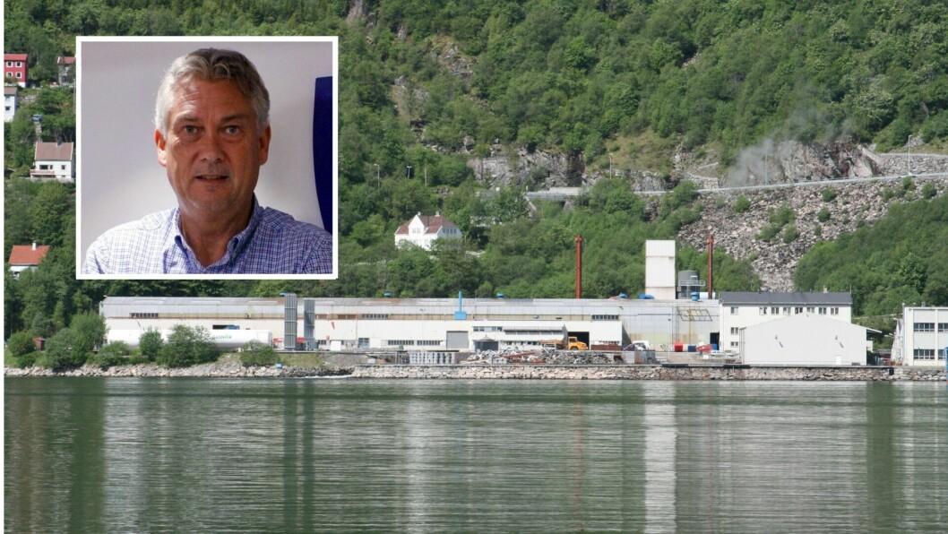 HÅP: Høyanger kommune vil stille krav til Nyrstar når dei no legg ned verksemda si i Høyanger.