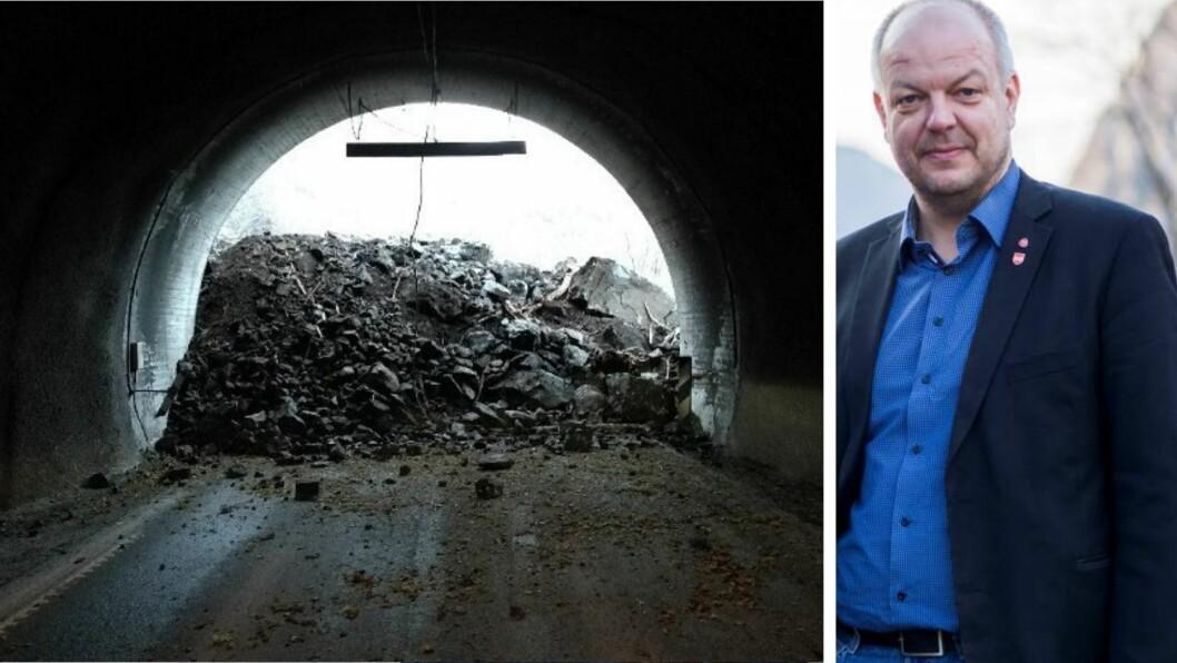 RAS: Finsåstunnelen er rasutsett. No må årdølene bu seg på å vente endå lenger med å sjå den utbetra. Det er ikkje berre negativt, meiner ordfører Hilmar Høl (Ap).