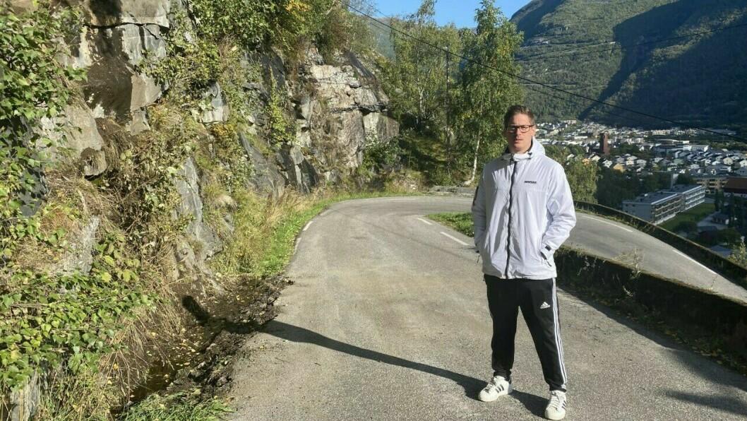 TILBAKE: Ole Jonny Ringen Pedersen tilbake der steinane kom tysdag.