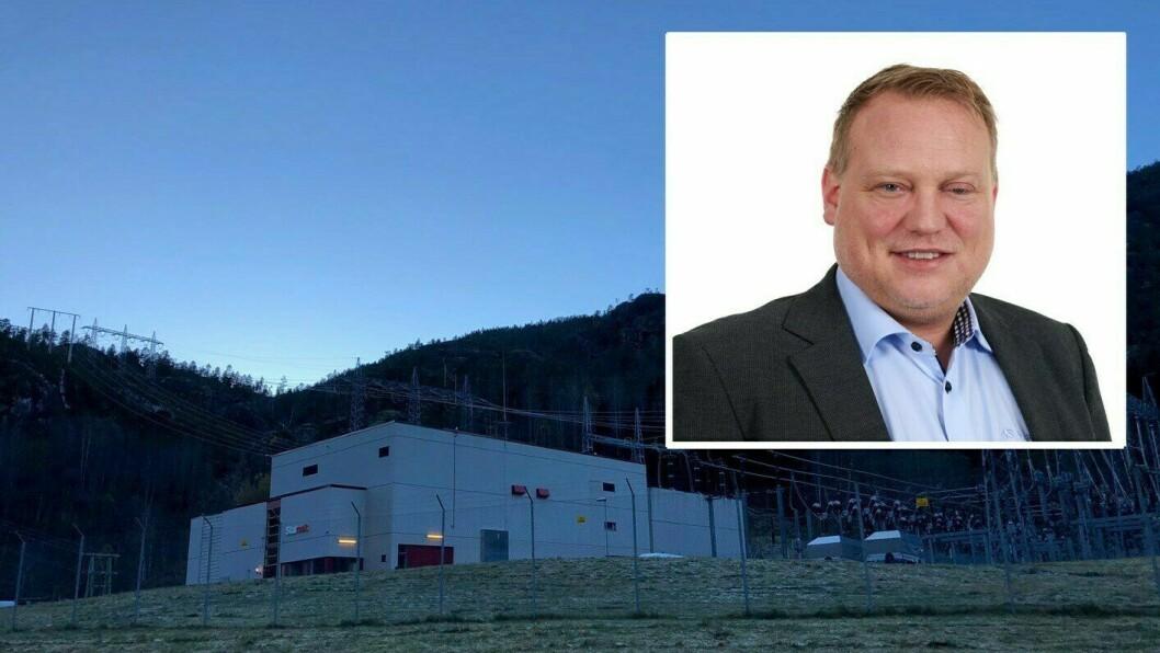 INVESTERER: Medan Statnett byggjer nytt, kjøper Sognekraft gamle Leirdøla transformatorstasjon for å oppgradera anlegget.