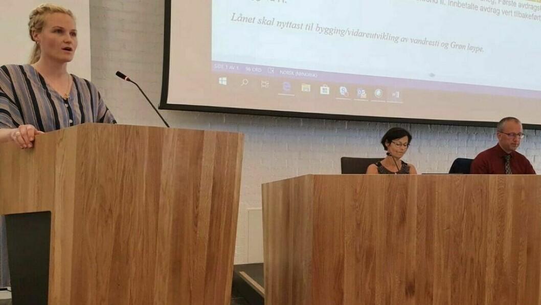 VIL HA MEIR FRAMSNAKKING: Kristin Rundsveen Bøtun, kommunestyrerepresentant i Sogndal Senterparti og leiar i komite for samfunnsutvikling.