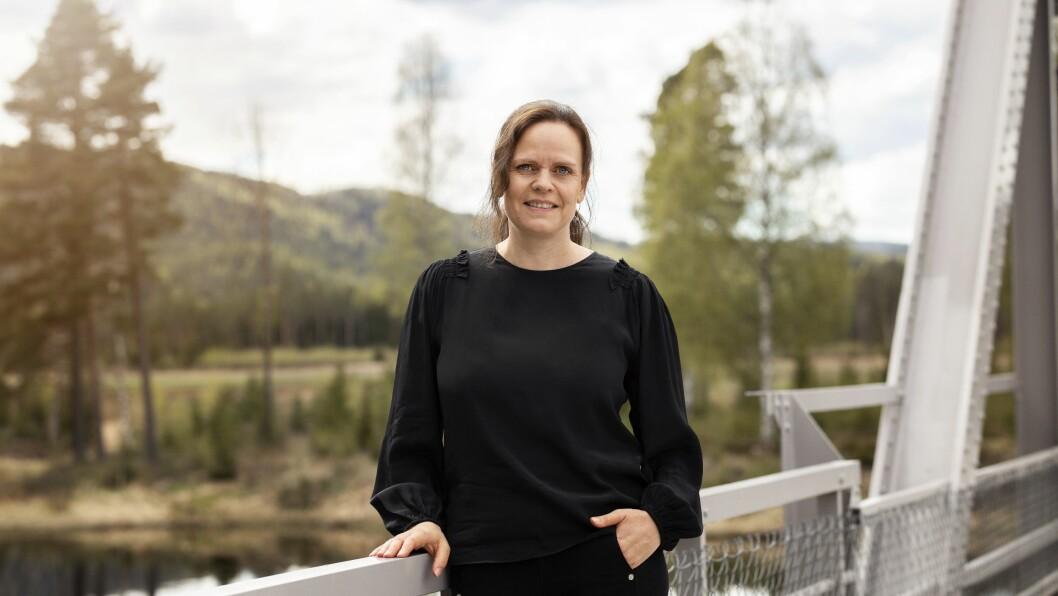 FORFATTAR: Ellen Gustavsen Simensen er aktuell med ny bok, der delar av handlinga går føre seg i Gulen.