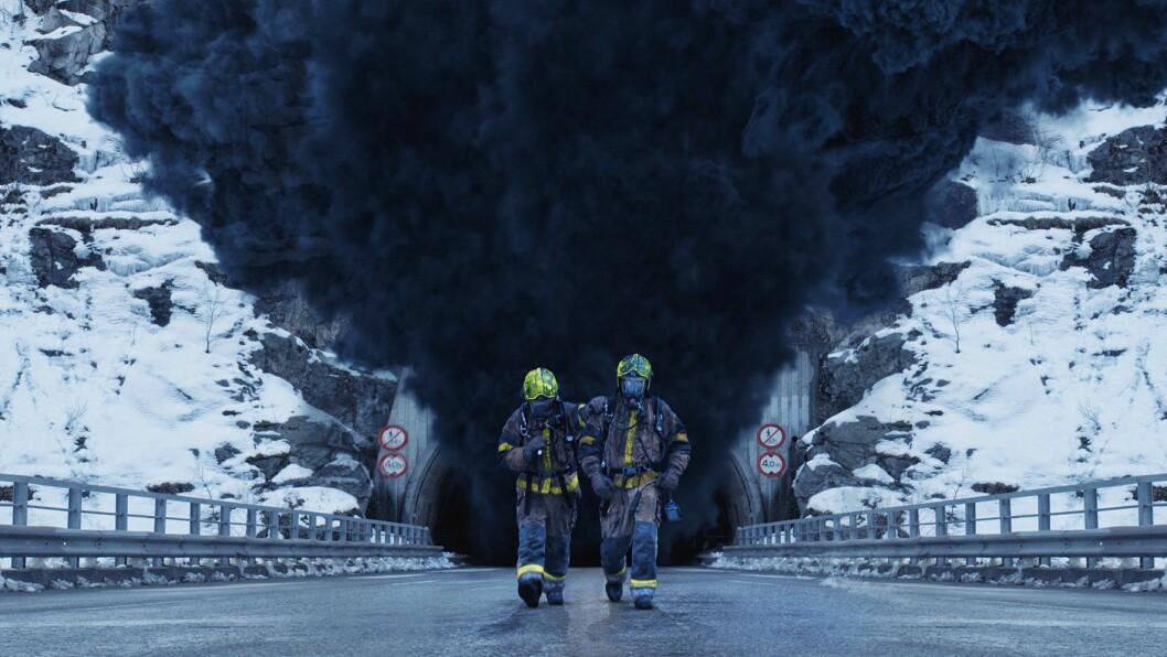 STOR I ASIA: Katastrofefilmen Tunnelen, spelt inn i Sogn, gjer det for tida sterkt på asiatiske kinoar.