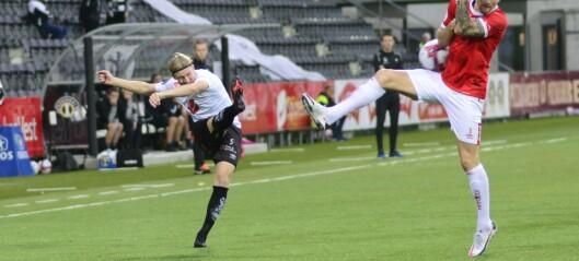 Første tap på fjorten kampar for Sogndal