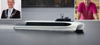 Fylket droppar utsleppsfrie hurtigbåtar. Næringsliv og lokalpolitikar skuffa