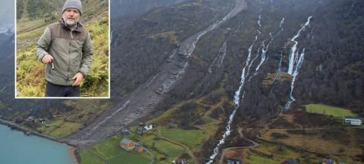 Med sensorar og teknologi trur geologen det kan vera mogleg å forutsjå jordskred