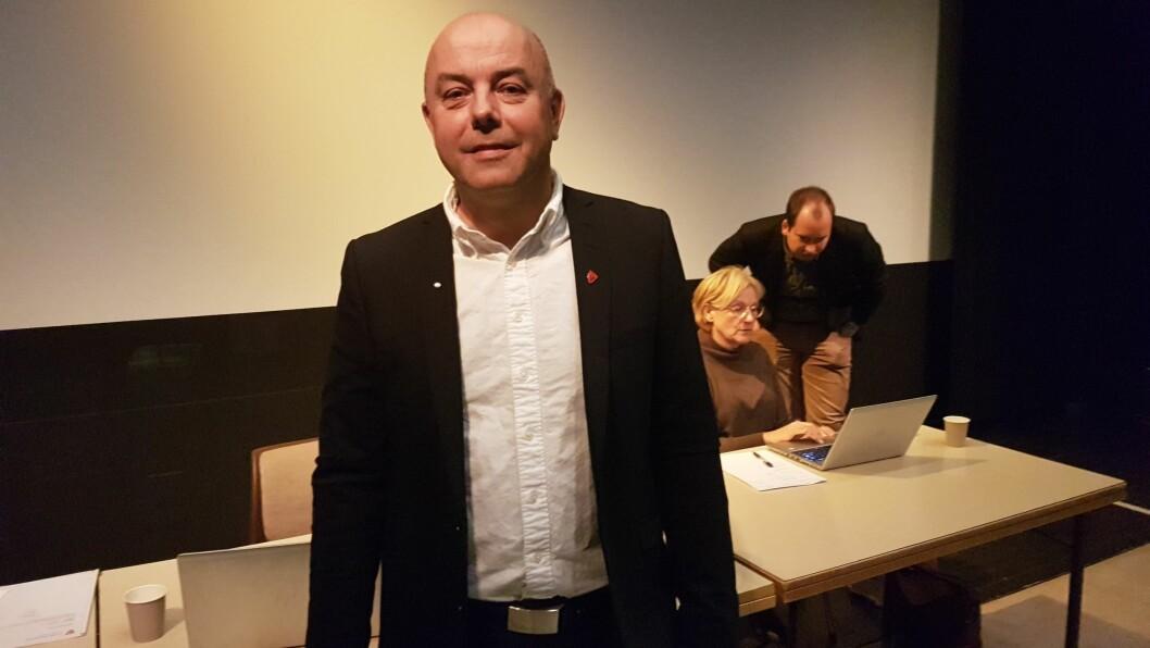 LETTA: Ordførar Audun Mo i Lærdal er letta og glad for at det nye pakkeriet på Håbakken blir ein realitet.