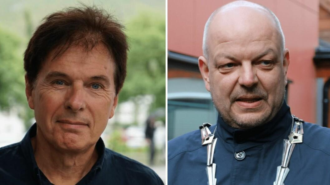 OPNE: Både næringssjef Terje Laberg og ordførar Hilmar Høl er positive til å sjå på alternativet for parkeringsavgift.