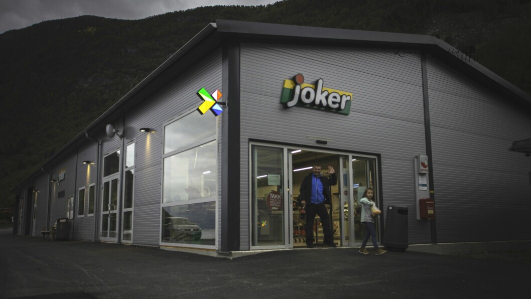 JOKER: Ein heilt ny Jokerbutikk i Bjordal.
