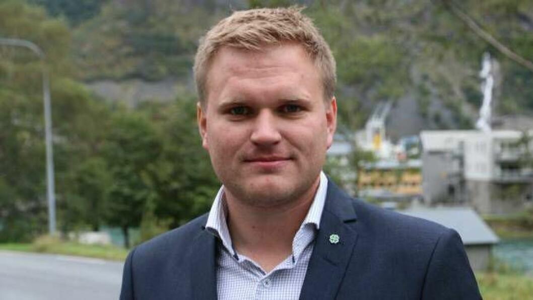 KAMP: Aleksander Øren Heen (Sp) frå Årdal kjempar om å verta førstekandidaten til Senterpartiet i Sogn og Fjordane inn mot Stortingsvalet i 2021.