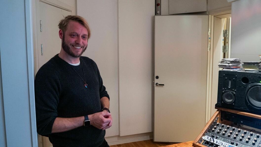 STJERNEKAMP: Odd Einar Nordheim er aktuell med Stjernekamp. No er han tilbake i studio for å gjera siste finpuss på albumet sitt.