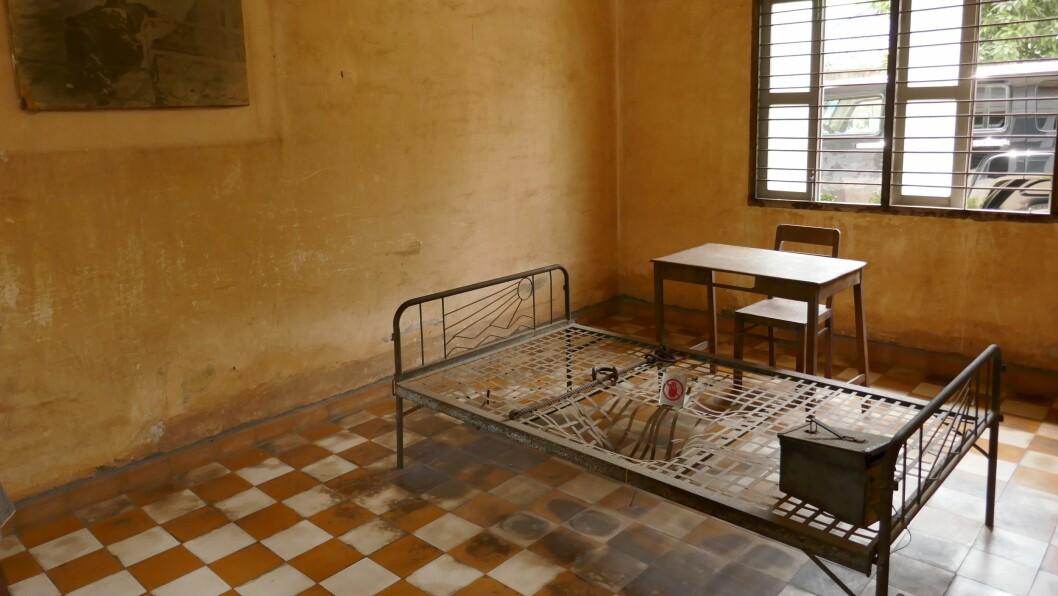 TRAGISK HISTORIE: Torturseng som vart brukt for å få