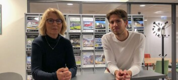 Greta og Erlend reagerer på framstilling av Årdalstangen som spøkelsesby