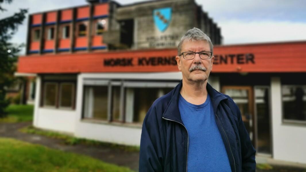 JOBBA: Ordførar Kjell Eide har jobba steinhardt dei siste dagane.