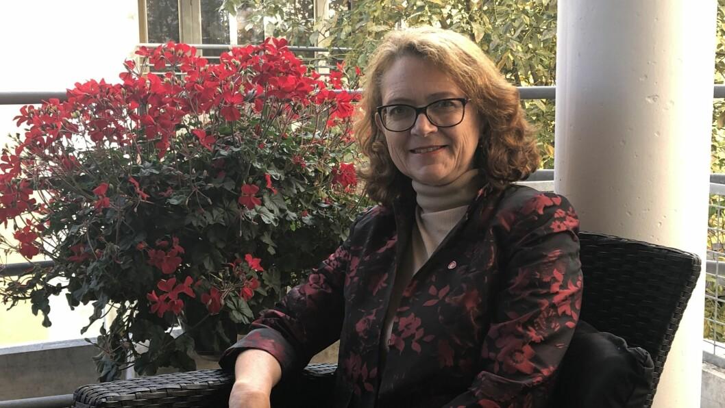 ULIKE: Ingrid Heggø viser til forskjellar i politikken til Arbeidarpartiet og Høgre.